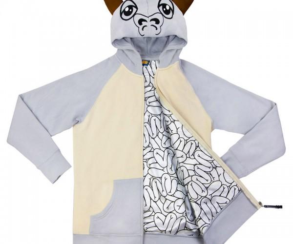 Tauntaun Hoodie Preserves Body Warmth