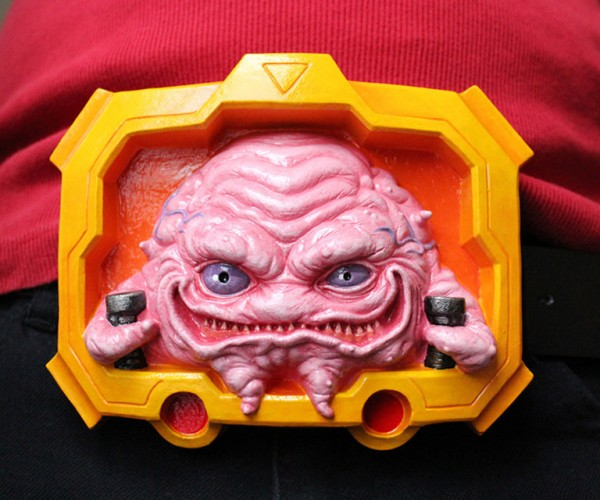 Krang Belt Buckle: Waist Clan