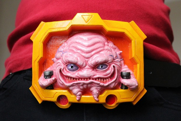 tmnt krang belt buckle by christopher genovese freakshop 620x413