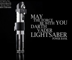 Darth Vader Lightsaber Power Bank: Force Charge!