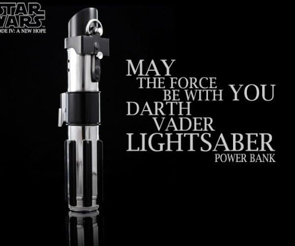 Darth Vader Lightsaber Power Bank: Force Charge!