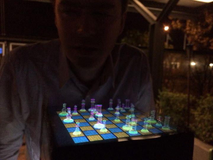 Voxiebox Volumetric Display: 3D Printing with Light