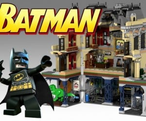 Batman Assault on Wayne Manor LEGO Set Looks Amazing