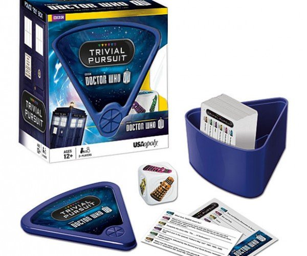 Doctor Who Trivial Pursuit: Winning Proves You're Smarter on the Inside
