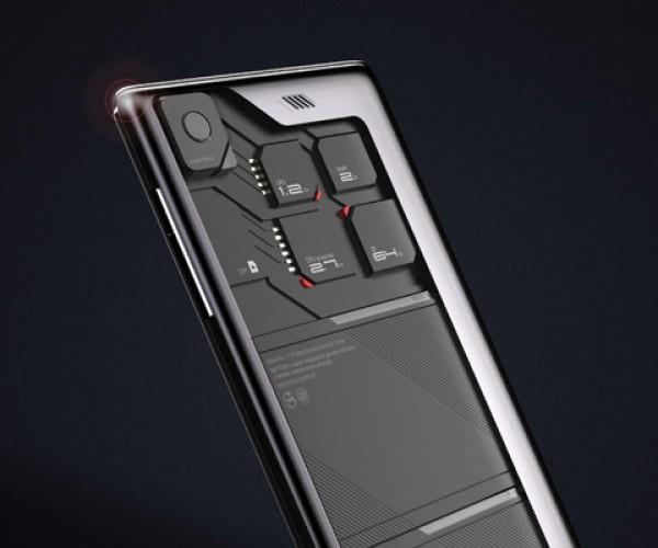 ZTE Eco-Mobius Modular Phone Concept: Junior Master Race