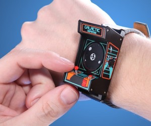 Classic Arcade Wristwatch: Game and Watch, Literally.