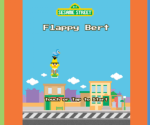 Missing Flappy Bird? Play a Game of Flappy Bert Instead