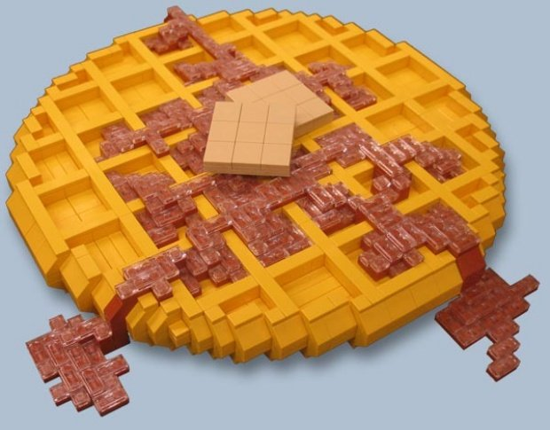 Lego Toy Food : Lego foods are delectably inedible