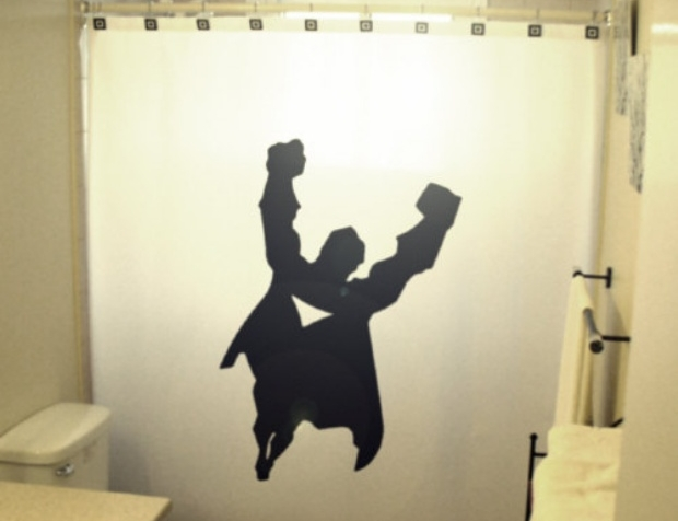 Superman Curtain