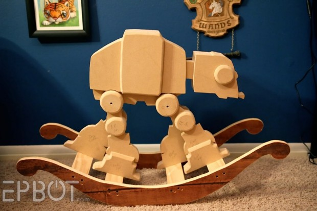 tauntaun rocking horse plans