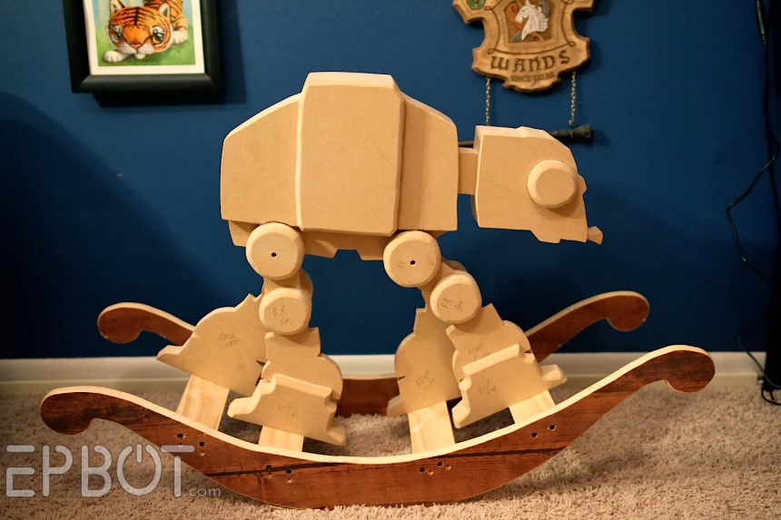 AT-AT Rocking Horse: for Imperial Troops in Training - Technabob