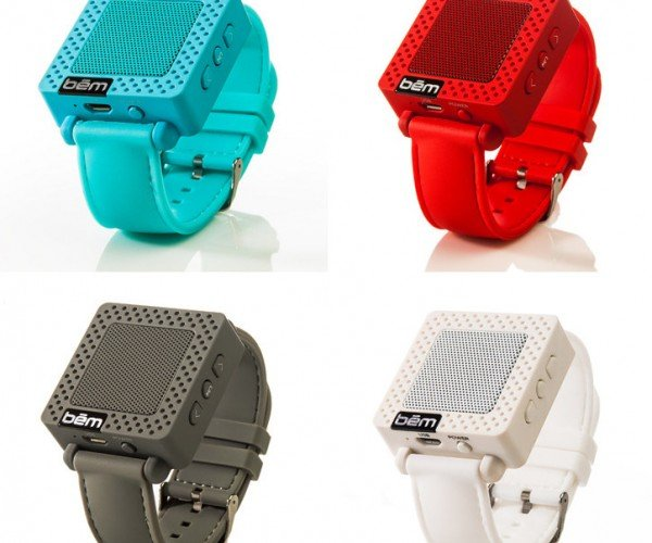 Bem Wireless Speaker Band Puts a Speaker on Your Wrist