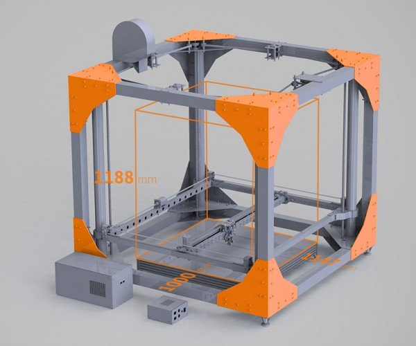 BigRep One 3D Printer is Big Enough to Print Furniture: 3DXL