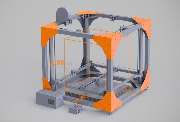 bigrep one 3d printer 620x421