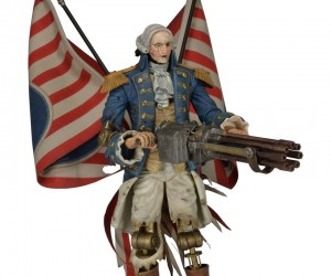Bioshock Infinite Motorized Patriot Action Figure: Columbia! F-Yeah!