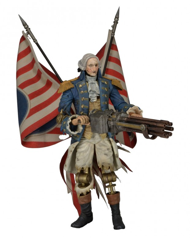 bioshock infinite motorized patriot action figure by neca 620x775