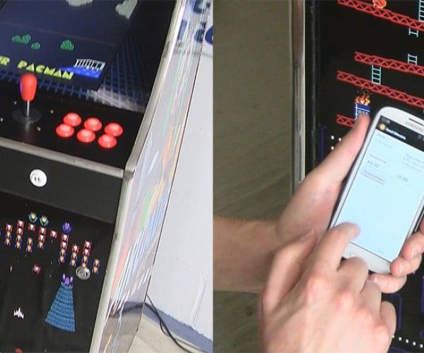 Arcade Machine Accepts Bitcoins: Bitcoin-op