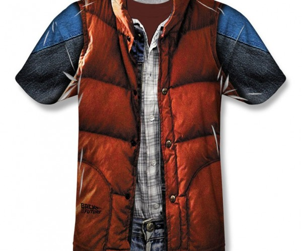 Marty McFly's Outfit – In T-Shirt Form