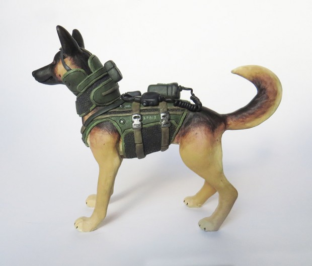 call of duty dog riley figurine by BabbitsBoutique 4 620x529