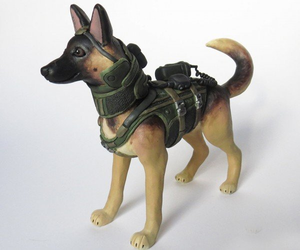 Call of Duty Ghosts Riley Figurine: Such Sculpture