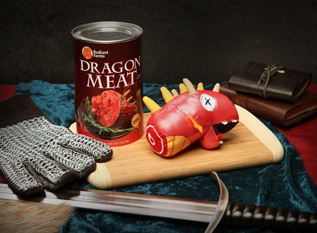 canned dragon meat by thinkgeek 620x455