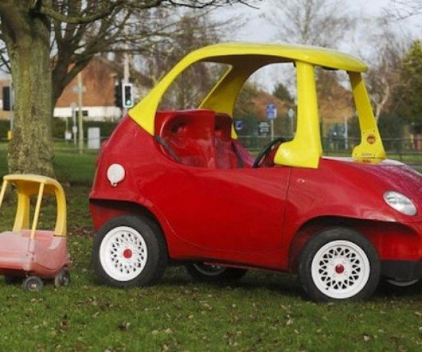 Street-legal Cozy Coupe Doesn't Look too Cozy