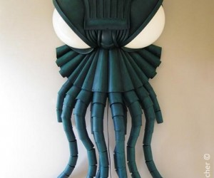 Cthulhu Wall Sconce: The Darkest Light