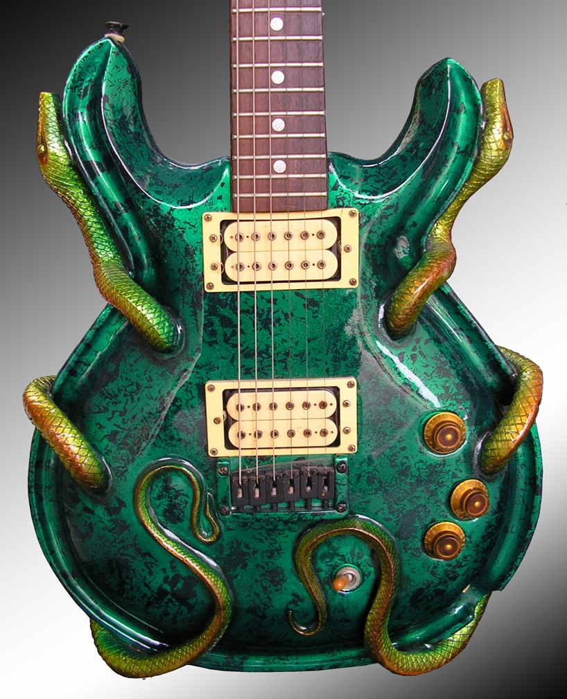 Amazing Custom Guitars String Art