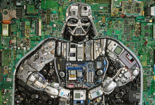darth vader mixed media 1 620x421