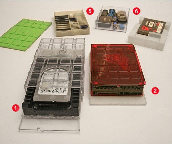 Datainer Modular Storage Device Organizer: Storage for Storage