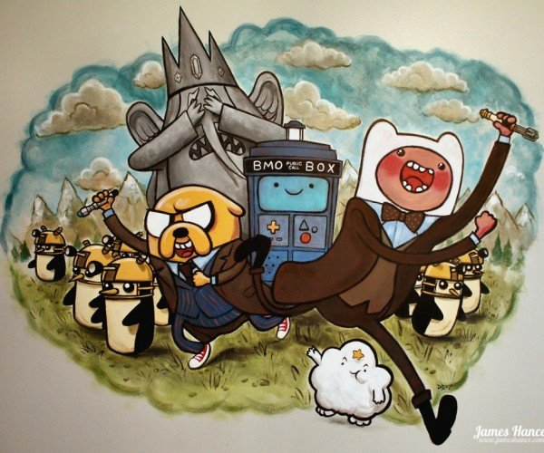 Oh My Glob! Doctor Who Meets Adventure Time