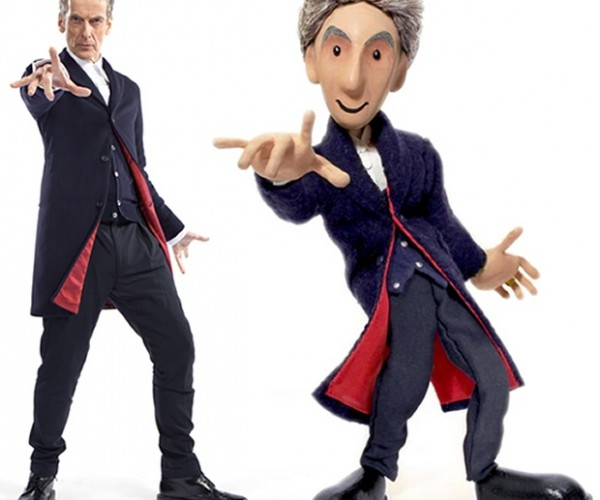 Puppet Capaldi: Doctor Who Puppet