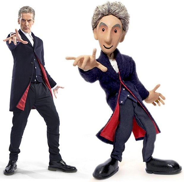 doctor who puppet