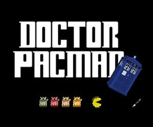 Play Doctor Who Pac-Man: Wakka Wakka Exterminate!