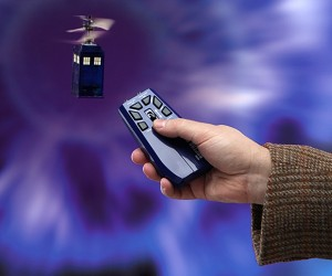 Remote Control Mini Flying TARDIS: It's Bigger on the Show