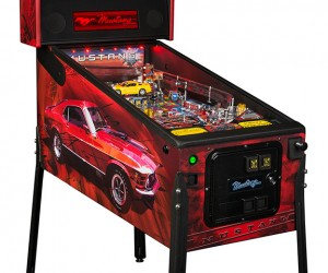 Ford Mustang Gets a Pinball Machine: Ponyball!