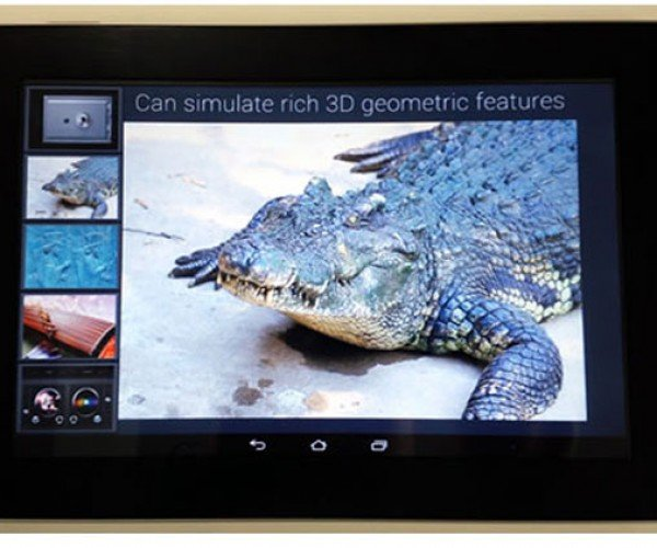 Fujitsu Tablet Prototype Lets You Feel Rough and Smooth Textures on Screen