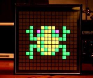 Game Frame Pixel Art Frame: 8-Bit Lite Brite