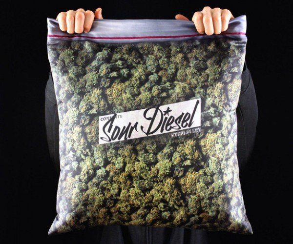 Giant Stash Pillowcase: No Prescription Required