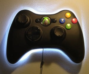 Put a Giant Xbox 360 Controller on Your Wall