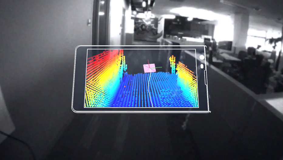 Google Project Tango Smartphone Lets You Make 3D Maps: DIY Street View