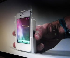 """SMS"" iPhone Case Sends Smoke Signals Instead of Text Messages"
