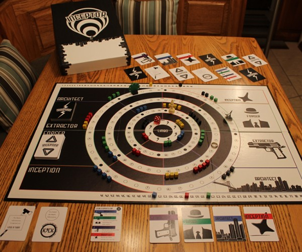 Inceptor Board Game is Based on Inception: BRAAAAHMM