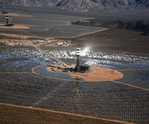 Ivanpah Solar Plant Accidentally Creates Death Ray that Kills Birds in Flight