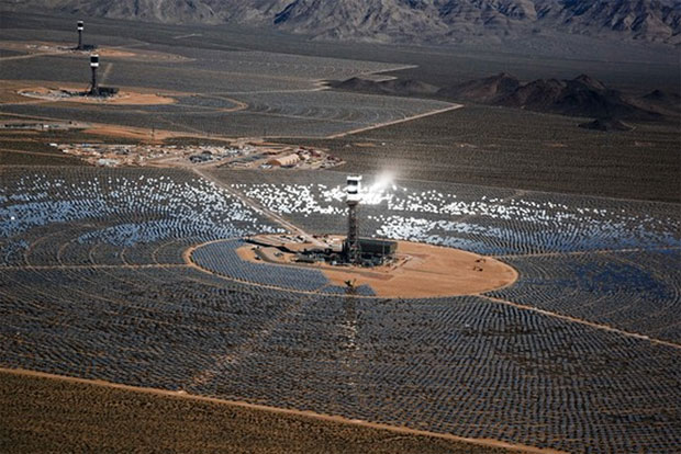 Ivanpah Solar Plant Accidentally Creates Death Ray That