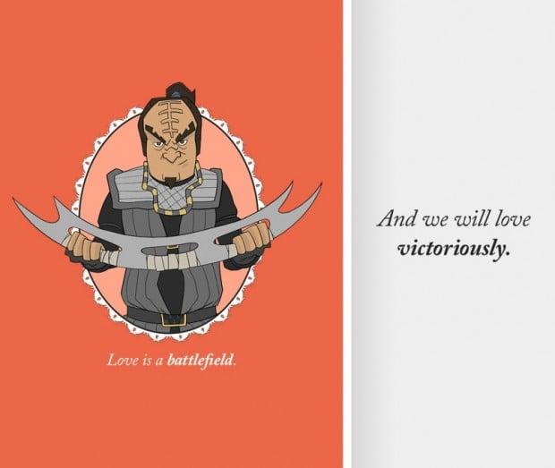 klingon valentine