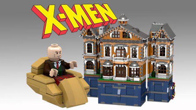 LEGO X-Men X-Mansion Concept  A Home for Gifted MinifigsLego Marvel X Men Sets