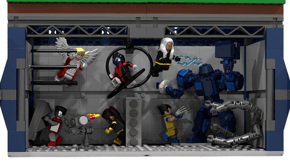 Lego X Men X Mansion Concept A Home For Gifted Minifigs