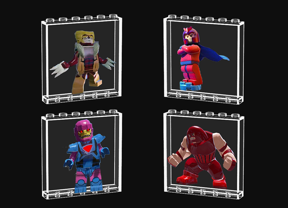 LEGO X-Men X-Mansion Concept: A Home for Gifted Minifigs - Technabob