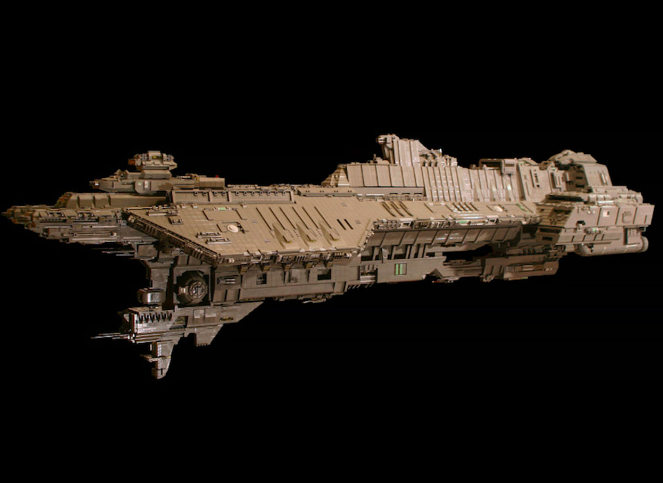 7 Foot-long Halo Ship Made out of LEGO - Technabob
